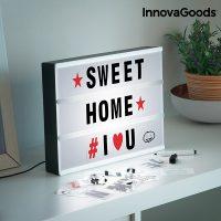 InnovaGoods LED Mozi Üzenőtábla