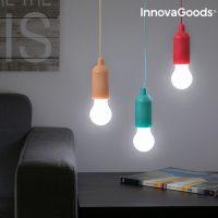 InnovaGoods LED Hordozható Izzó Húzózsinórral MOST 4567 HELYETT 1134 Ft-ért!