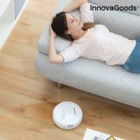 InnovaGoods Rovac 1000 Intelligens Robotporszívó Fehér MOST 33140 HELYETT 8780 Ft-ért!