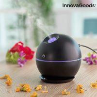 Mini aroma diffúzor párásító Black InnovaGoods MOST 23859 HELYETT 6902 Ft-ért!