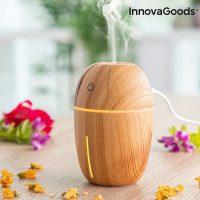 Mini aroma diffúzor párásító Honey Pine InnovaGoods MOST 23859 HELYETT 6902 Ft-ért!