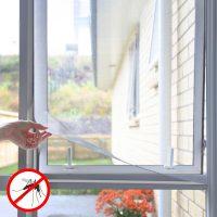 Méretre szabható, öntapadós szúnyogháló White InnovaGoods MOST 10280 HELYETT 772 Ft-ért!