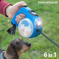 6 az 1-ben behúzható kutya póráz Compet InnovaGoods MOST 19882 HELYETT 5017 Ft-ért!