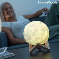 Újratölthető LED Hold Lámpát Moondy InnovaGoods MOST 18283 HELYETT 6371 Ft-ért!