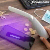 Összecsukható UV fertőtlenítő lámpa Nilum InnovaGoods MOST 23196 HELYETT 6116 Ft-ért!