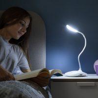 Újratölthető érintésérzékeny LED asztali lámpa Lum2Go InnovaGoods MOST 16567 HELYETT 4309 Ft-ért!