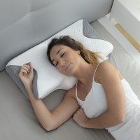 Viszkózelasztikus nyakpárna ergonomikus kontúrokkal Conforti InnovaGoods MOST 46399 HELYETT 13202 Ft-ért!