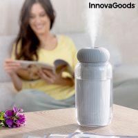 Ultrahangos aroma diffúzor párásító LED-del Stearal InnovaGoods MOST 23196 HELYETT 6661 Ft-ért!