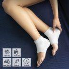 Hidratáló zokni gélpárnával és természetes olajokkal Relocks InnovaGoods MOST 9937 HELYETT 2176 Ft-ért!