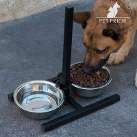 Állítható Dupla Etetőtál Kutyáknak