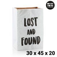 Oh My Home Közepes Méretű Papírtáska (30 x 45 x 20 cm) MOST 5441 HELYETT 1056 Ft-ért!