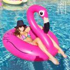 Wagon Trend Felfújható Úszógumi Flamingó