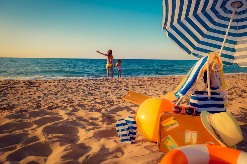 nyári strand termékek
